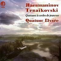 String Quartet, 1, 2, : Quatuor Elysee +tchaikovsky: String Quartet, 1,