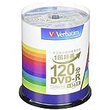 三菱ケミカルメディア Verbatim 1回録画用DVD-R(CPRM) VHR12JP100V4 (片面1層 1-16倍速 100枚)