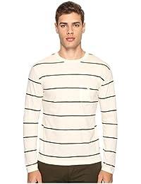 [トッドスナイダー] Todd Snyder メンズ Wide Stripe Long Sleeve Tee トップス [並行輸入品]