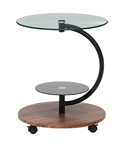 不二貿易 ガラス ラウンドテーブル