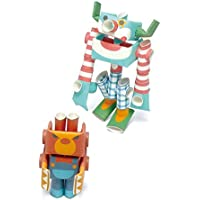 パイプロイド(PIPEROID) ファニー&アングリー 2-in-1 紙工作 ロボット キット