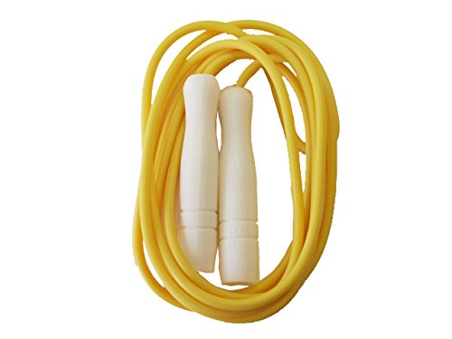 TERANISHI(ケイティテラニシ) KT TERANISHI(ケイティテラニシ) 一般用なわとび ビニール 全長3m(ロープ幅6mm) 日本製 6130 イエロー