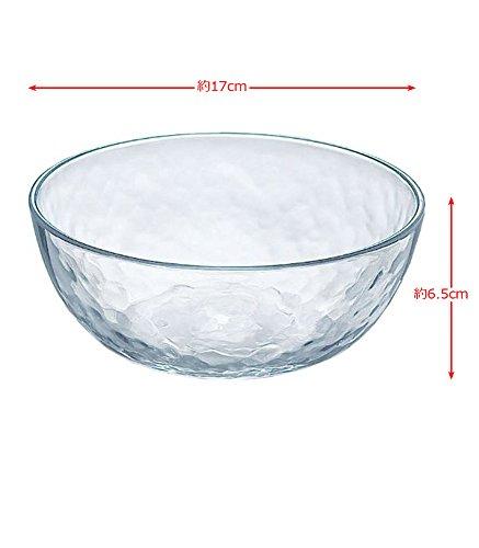 ガラス製 鉢 グラシュー ボール17 P-54322-JAN