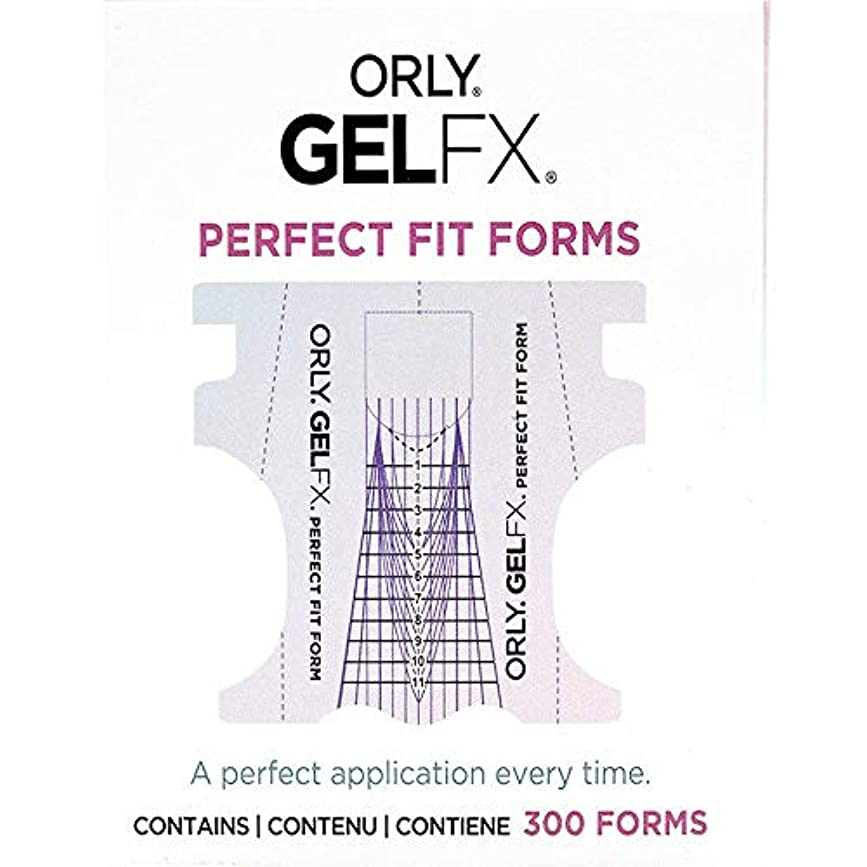Orly Gel FX - Perfect Fit Forms - 300 count
