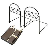 コモライフ ポケット付きのベッドガード サイドポケット ずれ防止 収納ポケット 簡単取付 落下防止 2個入