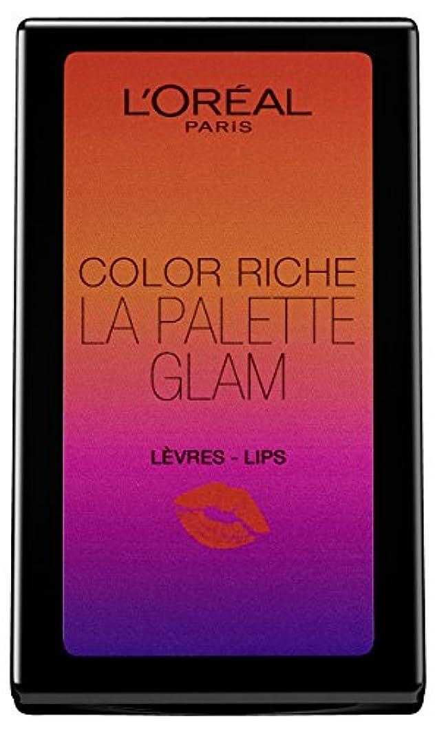 運営ミスペンド誰がL'Oréal Paris Color Riche La Palette Glam Lips, 1er Pack (1 x 7 g)