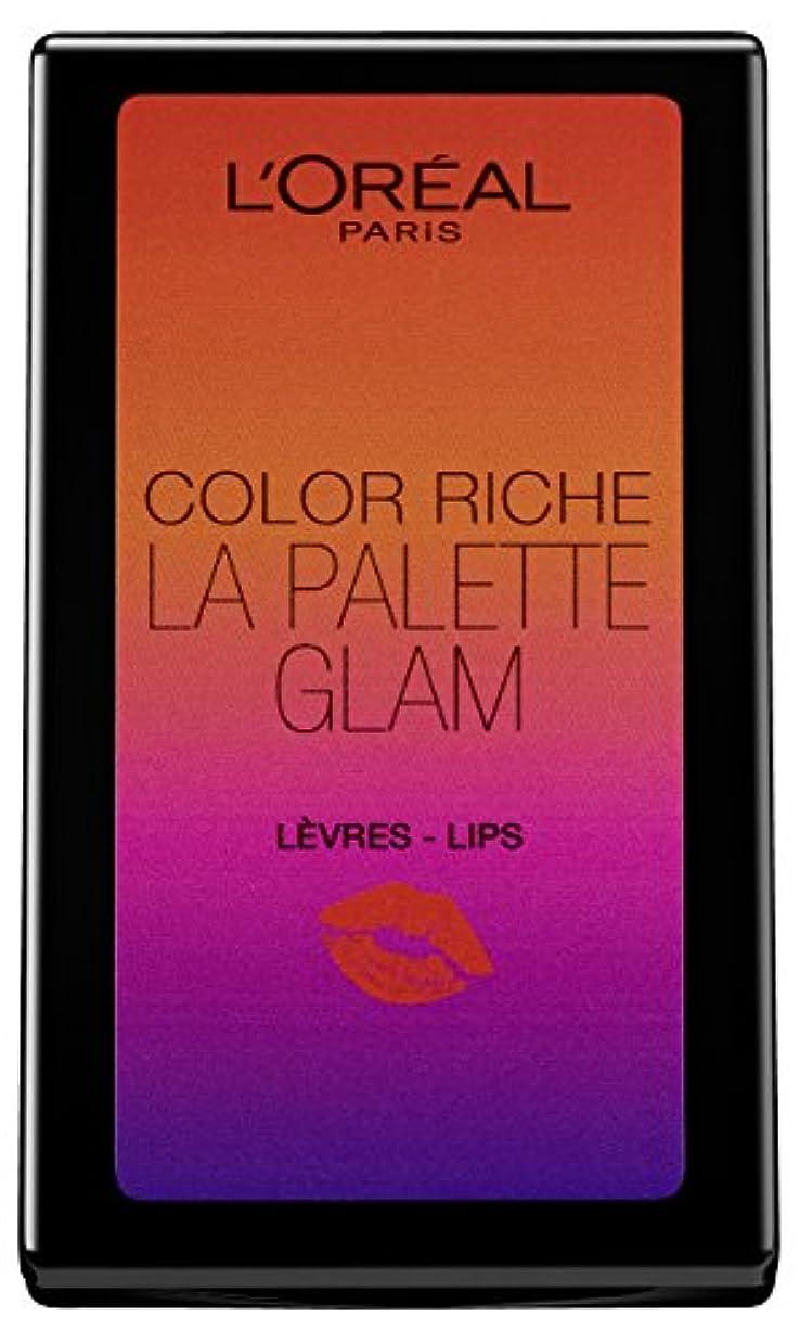 本当ににもかかわらず直径L'Oréal Paris Color Riche La Palette Glam Lips, 1er Pack (1 x 7 g)
