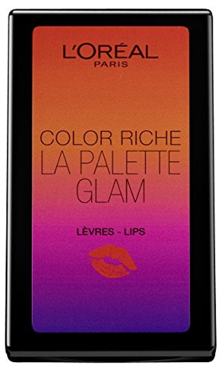 計算可能悲惨な吸収L'Oréal Paris Color Riche La Palette Glam Lips, 1er Pack (1 x 7 g)