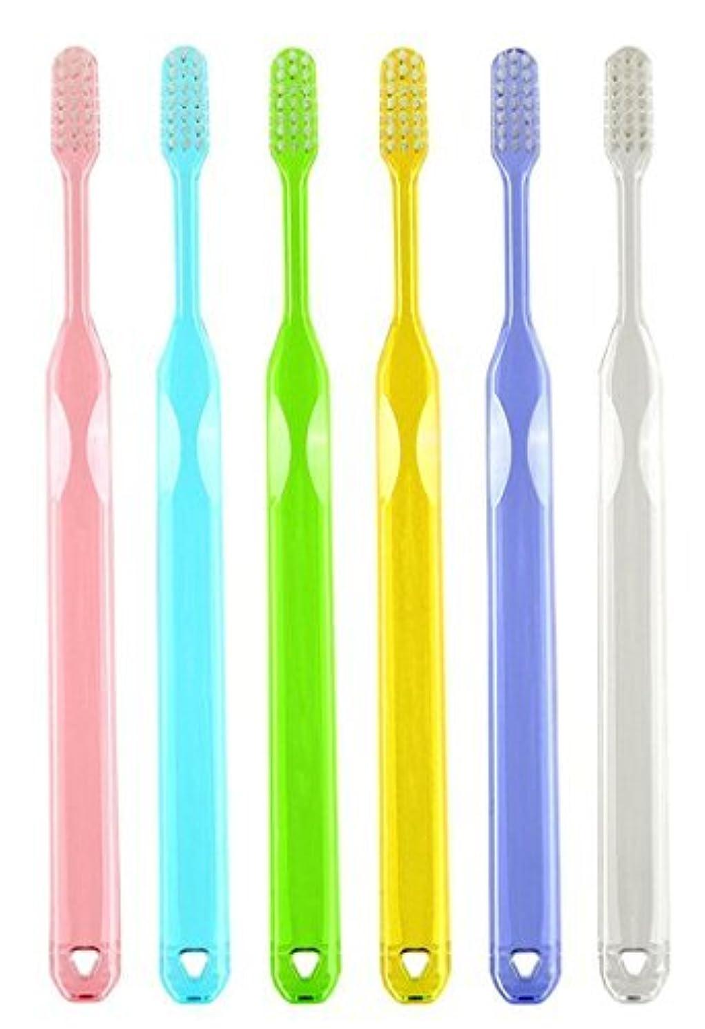 熟達した誕生日納得させるラピス LA-211 先細毛 ふつう 歯科用歯ブラシ アソート(6本セット)【日本製】