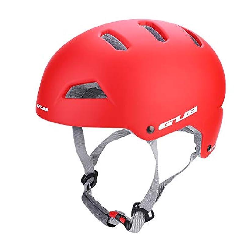 解説小人コンベンションヘルメット クライミング ヘルメットスケートユニセックスヘルメット乗馬大人用男性女性屋外用サイクリングロッククライミングスキースノーボード自転車自転車ブラックホワイトレッド