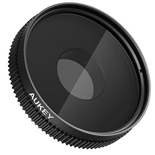 AUKEY スマホレンズ 偏光 レンズ フィルター CPLフィルター クリップ式 iPhone7/6s Samsung Galaxy S6 Sony xperia z3 Z4 Z5などの スマホ用カメラレンズ PF-C1