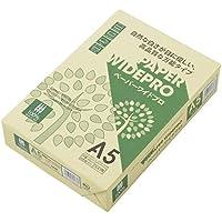 APP 自然色 コピー用紙 ペーパーワイドプロ A5 白色度87% 紙厚0.09mm 500枚 PEFC認証