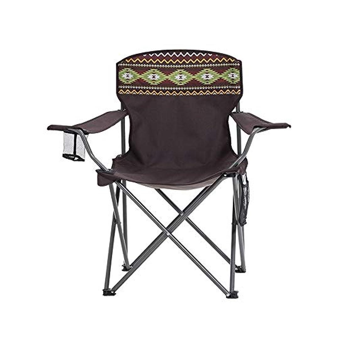 明らかにするハウジング免除する折りたたみ椅子 折りたたみキャンプチェア軽量ポータブルフェスティバル釣りアウトドアトラベルシート (色 : Picture Color, サイズ : 40*40*75cm)