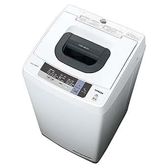 日立 5.0kg 全自動洗濯機 ピュアホワイトHITACHI NW-5WR-W