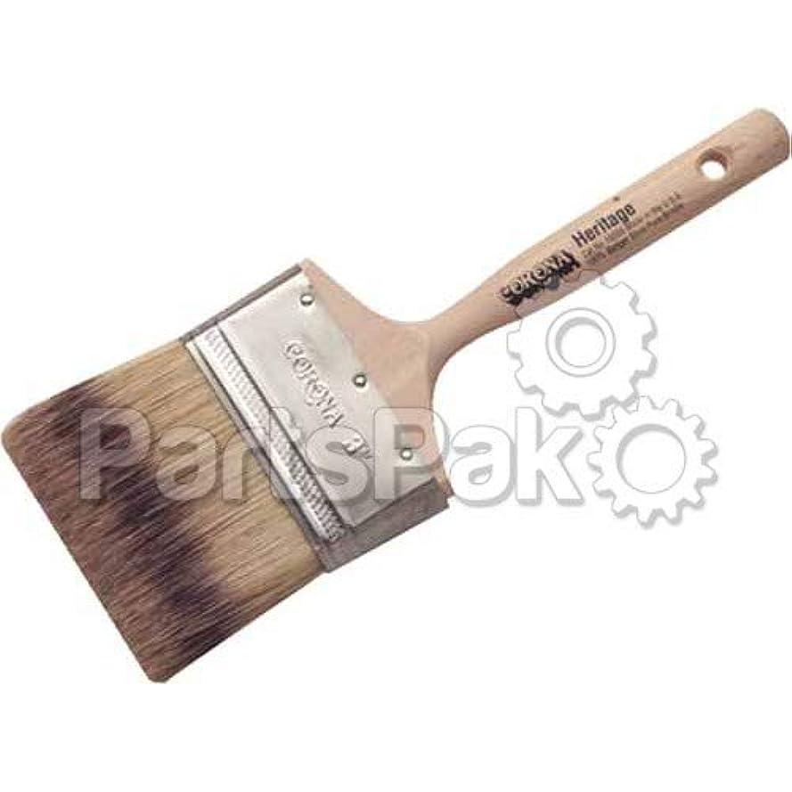 間欠一族色Corona Brushes 160553 3 Heritage Badger Brush