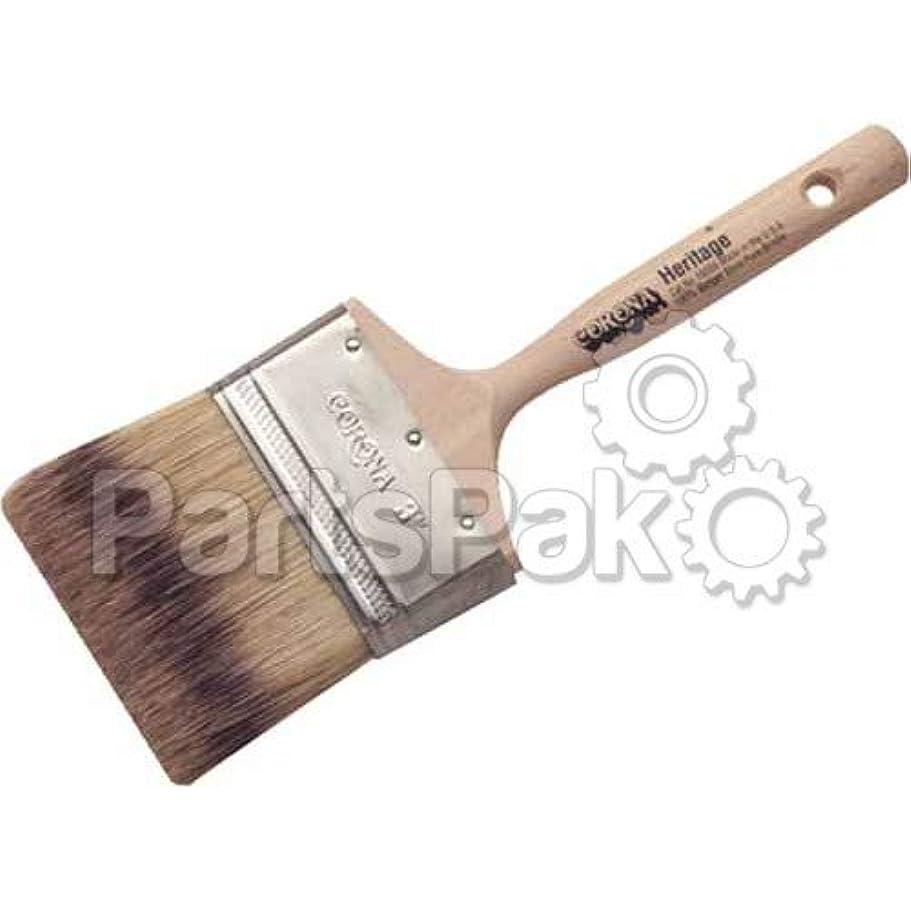 サンドイッチインポート言語学Corona Brushes 160553 3 Heritage Badger Brush
