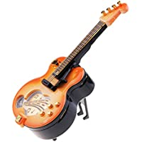 D DOLITY ギターモデル オルゴール 音楽ボックス 装飾 おもちゃ 収集品 デコレーション ギフト 素晴らしい
