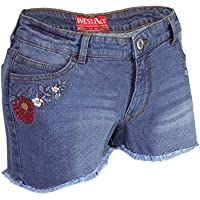 Women's Sexy Stretchy Hot Pants Distressed Denim Shorts Designer Half Pants USA 4-16