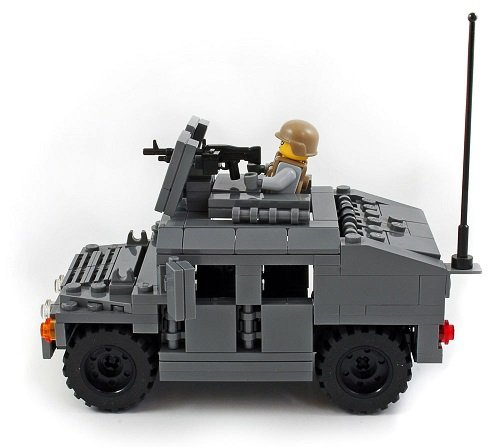 M1025 Humvee Emboldened Marine Corps Lego Custom Kit With