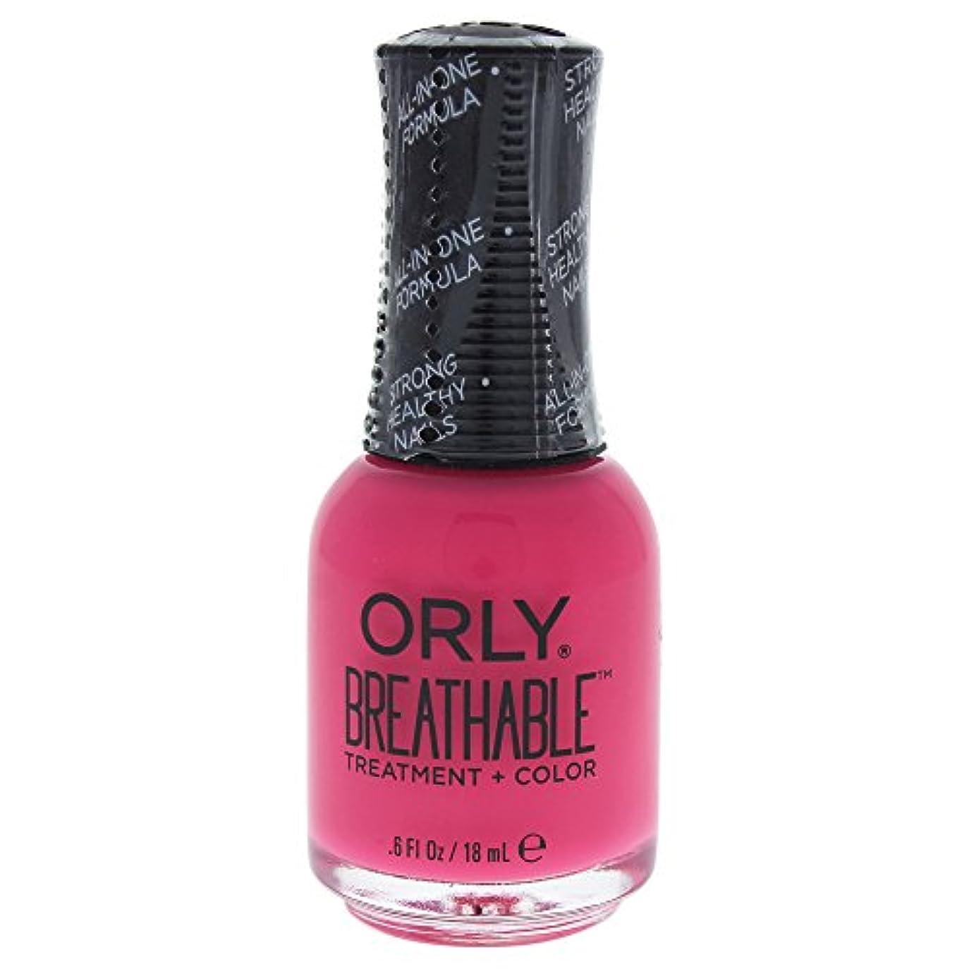 杭気球ドラッグOrly Breathable Treatment + Color Nail Lacquer - Pep In Your Step - 0.6oz / 18ml