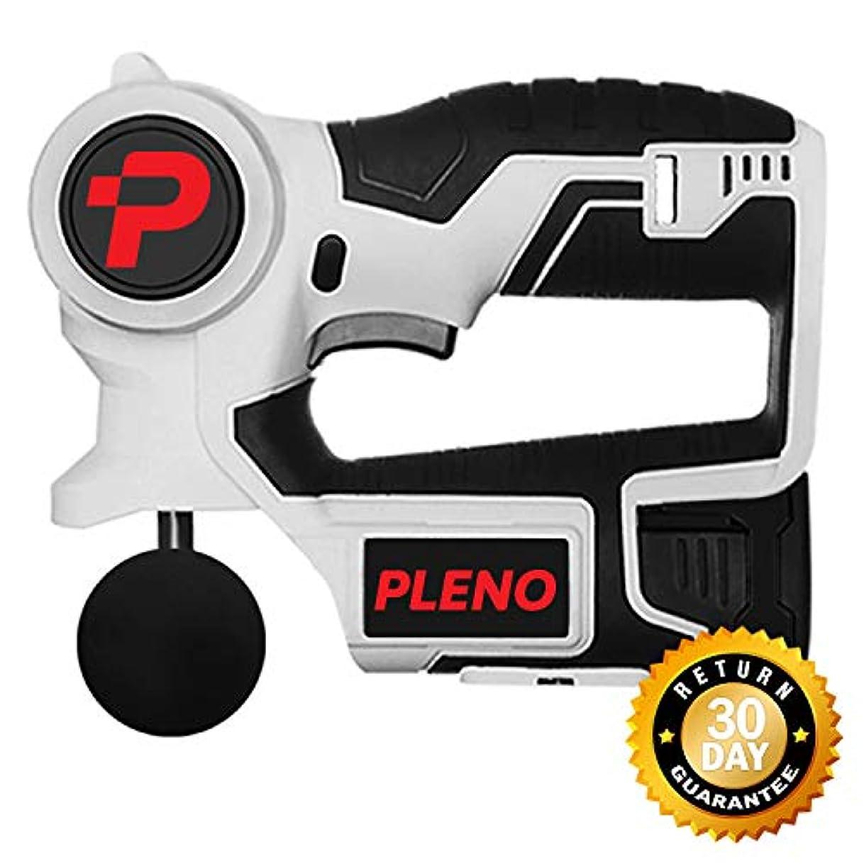 満足させる視線ウェイトレスProfessional Deep Muscle Massager: Pleno M3.0 Powerful Handheld Tissue Massager Gun,コードレスで筋肉を刺激 141[並行輸入]