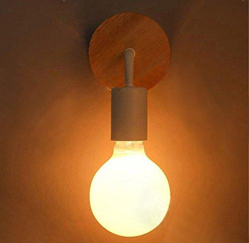 Signstek ブラケットライト.レトロ.アンティーク調 壁掛け照明器具 スチール製 (ホワイト)