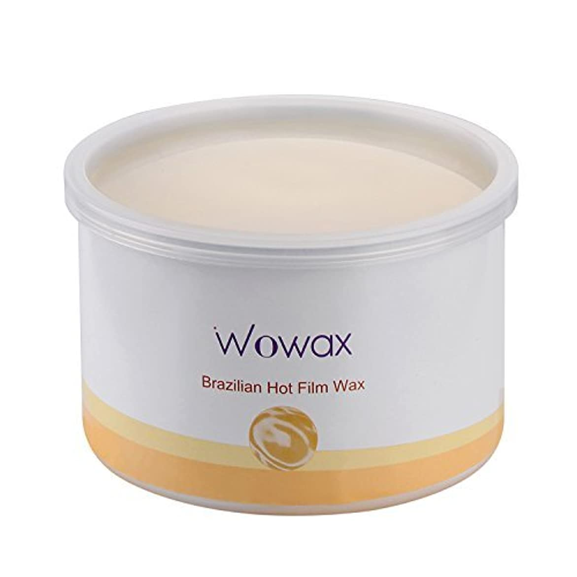 家具おいしい撤退WOWAX Brazilian Wax Stripless Hard Wax Hair Removal Wax for Whole Body and Sensitive Skin 14 oz [並行輸入品]