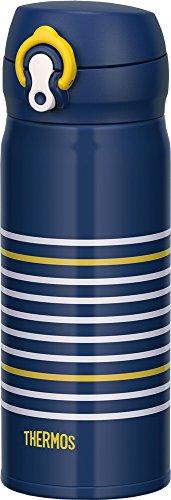 サーモス 水筒 真空断熱ケータイマグ ワンタッチオープンタイプ 400ml ネイビーイエロー JNL-402 NV-Y