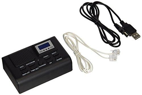 サンコー 電話機に後付けできる通話録音再生機 通話自動録音BOX  TLPRC38B