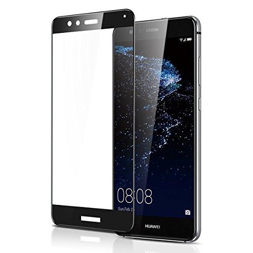 Huawei P10 Lite フィルム 耐衝撃 全面保護 擦り傷防止 硬度...