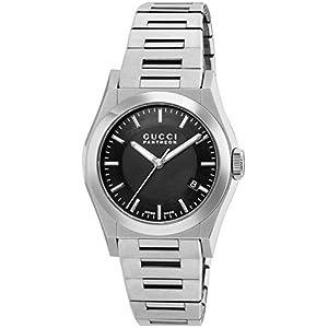 [グッチ]GUCCI 腕時計 パンテオン ブラック文字盤 YA115423 メンズ 【並行輸入品】