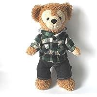 ダッフィー シェリーメイ Sサイズ 43cm 用コスチューム 米 ビルドアベア 社 ジーンズ と フード付シャツ パーカー の コーデ ダッフィーコスチューム ダッフィー衣装