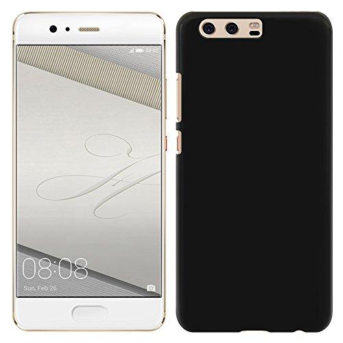 [Breeze-正規品] iPhone ・ スマホケース ポリカーボネイト [Black] HUAWEI P10 PLUS ケース ファーウェイ P10 プラス カバー SIMフリー カバー 液晶保護フィルム付 全機種対応 [P10P]