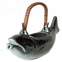織部 岩魚(いわな) 骨酒用徳利 (小)