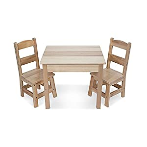 Wooden Table & Chairs Set: Play House - Kitchens & Play Sets