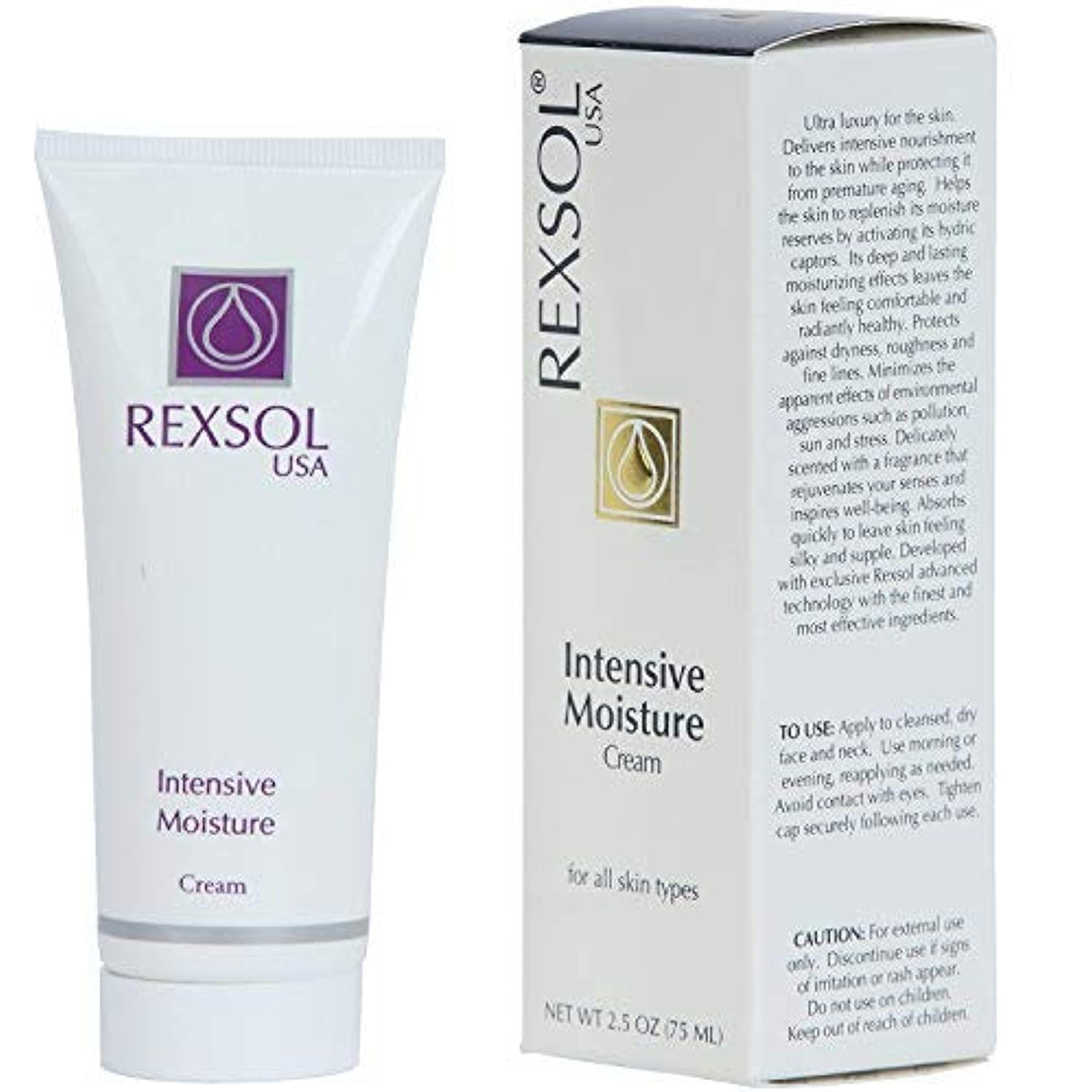 接続詞誓約エンドウREXSOL Intensive Moisturizer Cream (75 ml / 2.5 fl oz) [並行輸入品]