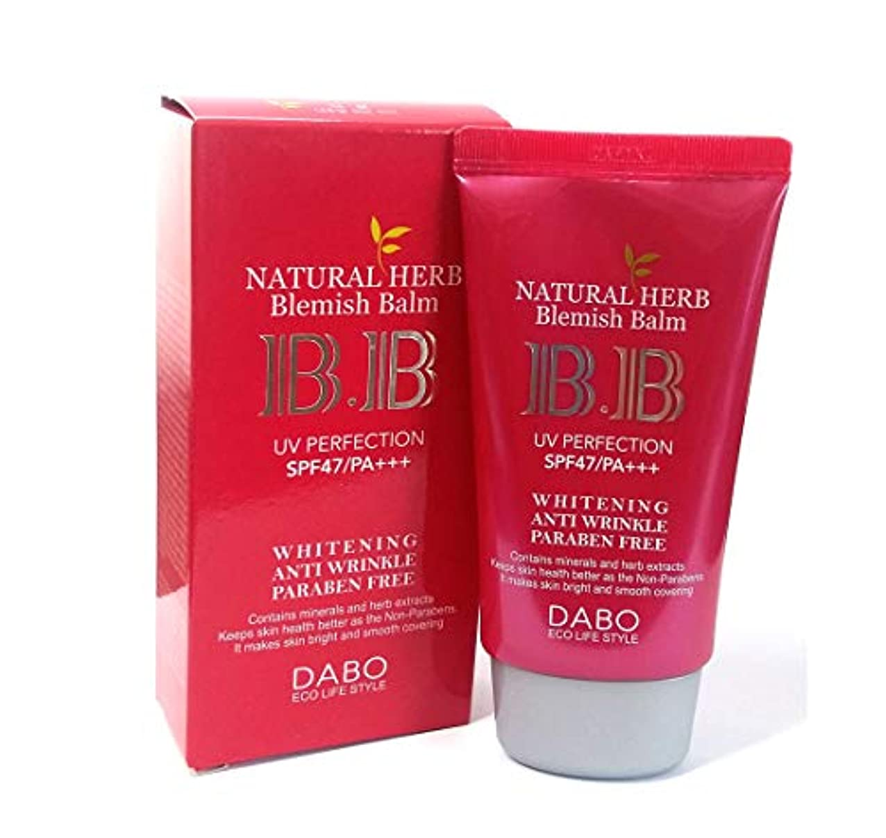 不良ブームまたはどちらか[DABO] ナチュラルハーブBBクリーム50ml / Natural Herb BB Cream 50ml /SPF47 PA +++ / ホワイトニング、UVプロテクト/韓国化粧品/Whitening, UV Protect...