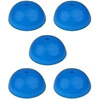 Sharplace 5点セット  ミニディスク トレーニング サッカー/フットボール パーツディスク 訓練道具 フィールドマーカー コーン形