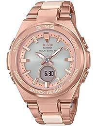 [カシオ]CASIO 腕時計 BABY-G ベビージー G-MS 電波ソーラー MSG-W200CG-4AJF レディース