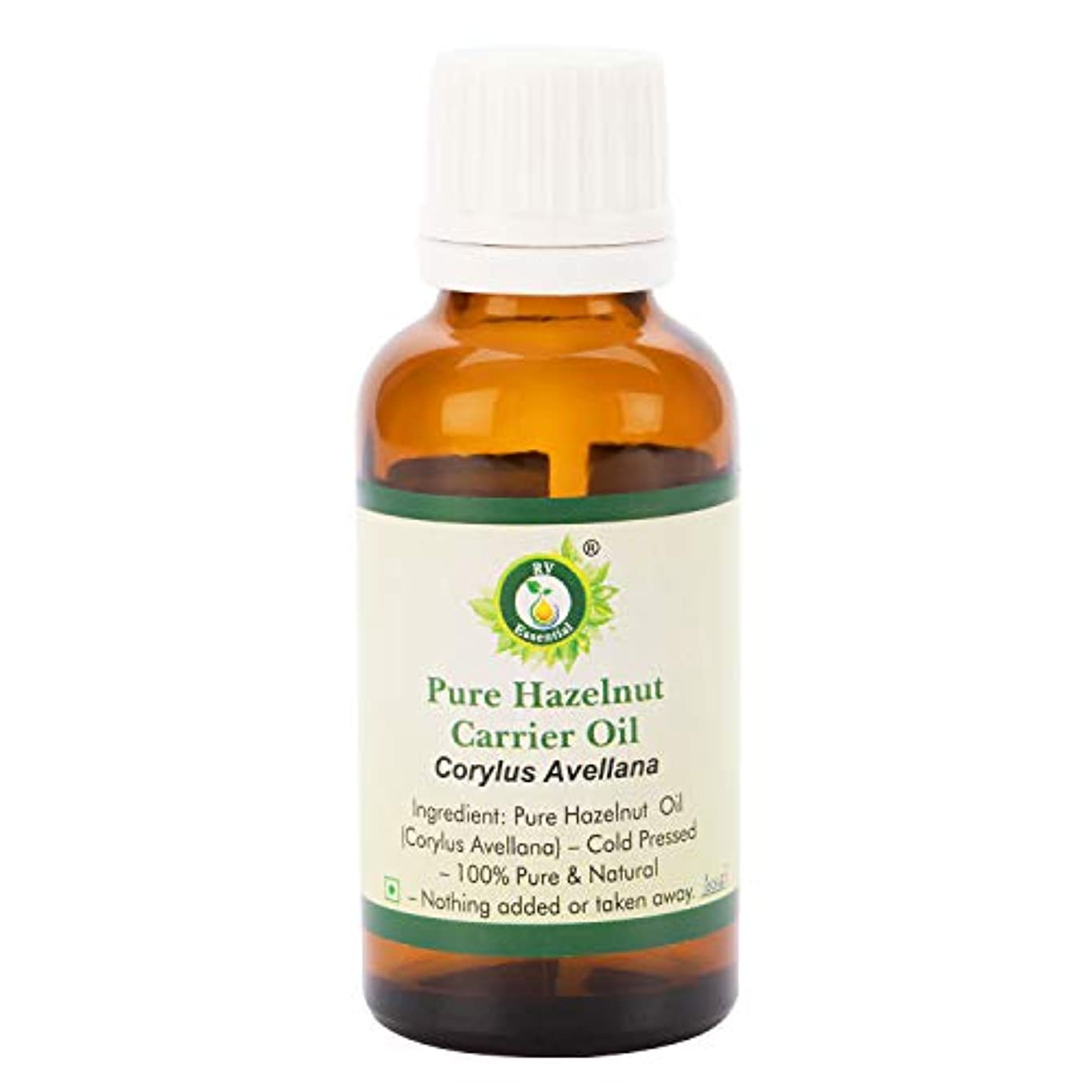 高い愛国的なペイントピュアヘーゼルナッツキャリアオイル100ml (3.38oz)- Corylus Avellana (100%ピュア&ナチュラルコールドPressed) Pure Hazelnut Carrier Oil