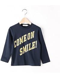 ザ ショップ ティーケー(キッズ)(THE SHOP TK Kids) Tシャツ(【150cmまで】COME ON SMILE ロゴロングTシャツ)