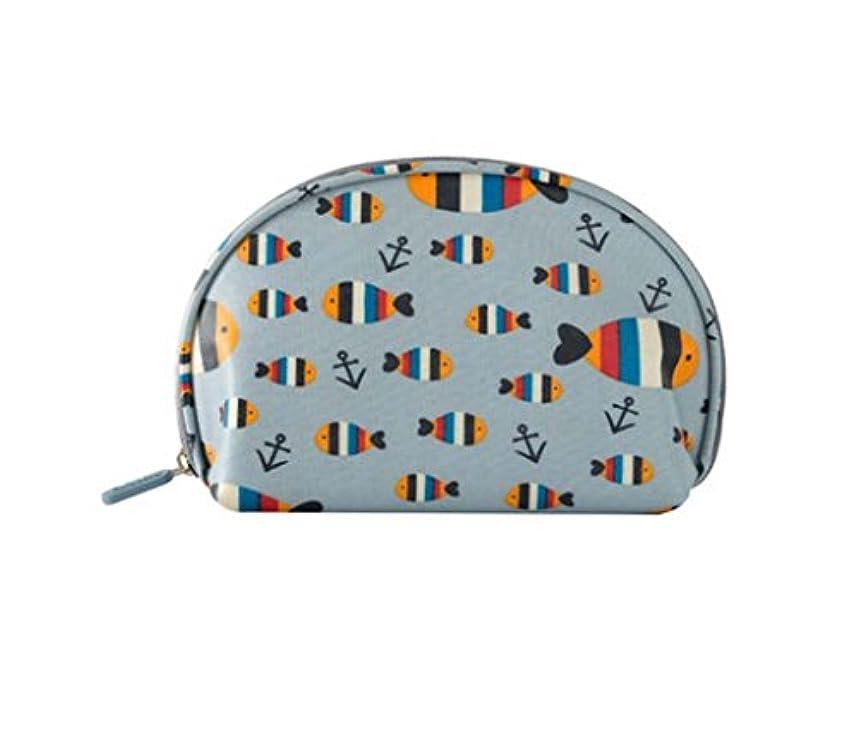チャット歯厄介な女性のトランペット防水ホールディングコスメティックバッグミニシンプルなパッケージ