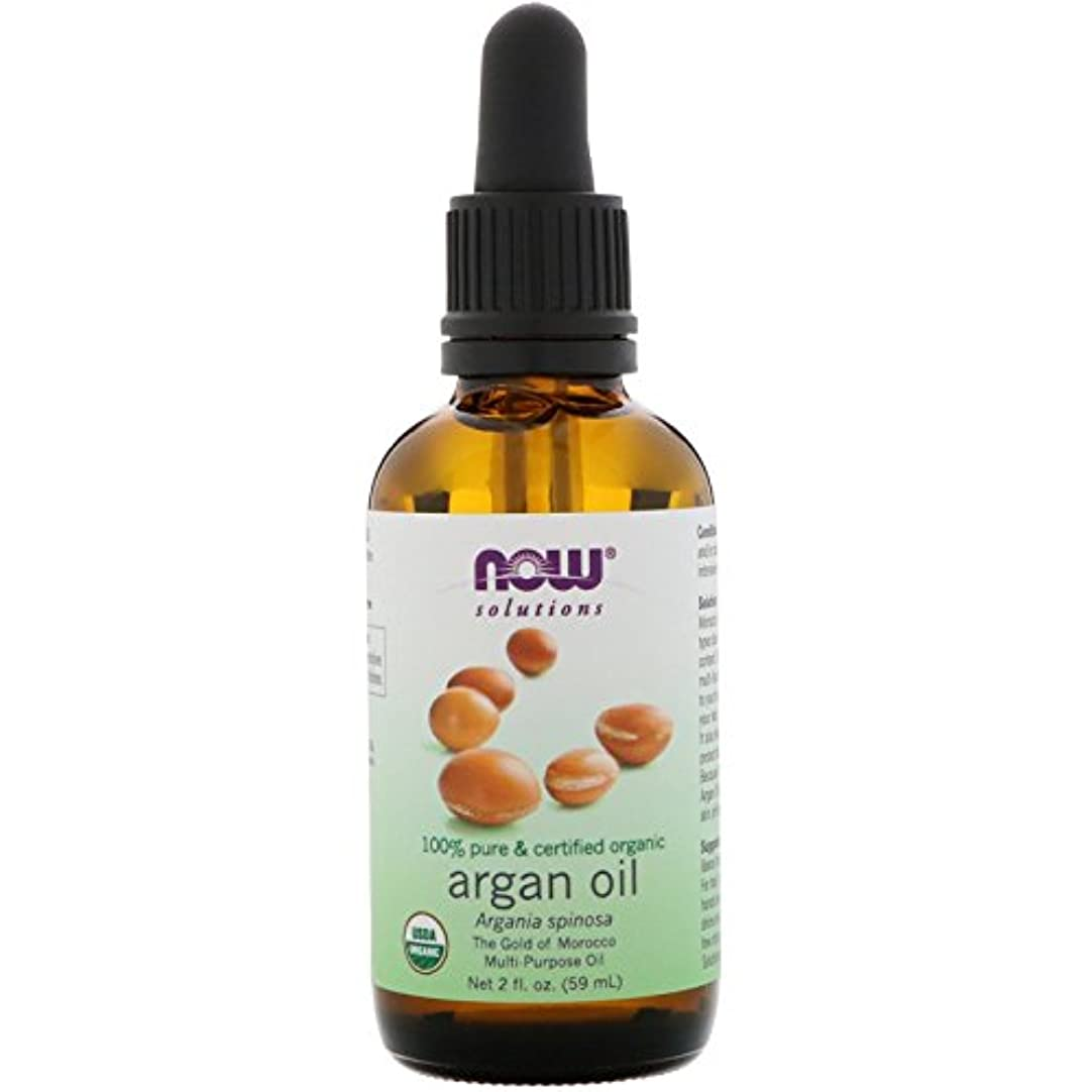 解説定期的な近所のNow Foods オーガニックアルガンオイル 2 液量オンス (59 ml)[並行輸入品]