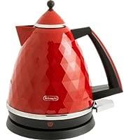 (デロンギ) DeLonghi KBJ3001 Brillante Kettle - Red[並行輸入品] (red)