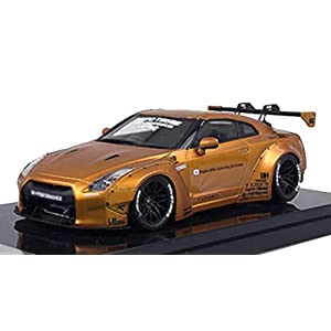 ONEMODEL 1/18 LB Work R35 GT Wing Matt Gold 完成品