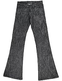 (ブラックバリア) BLACK VARIA ベルボトム ブーツカット デニム ワンウォッシュ メンズ ジーパン 日本製 ストレッチ ボトムス パンツ ブラック黒 172303