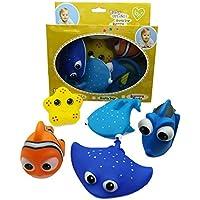 お風呂用おもちゃ 水遊び 赤ちゃん 浴室おもちゃ 海洋動物おもちゃ 自動車道具おもちゃ 大人気のおもちゃ シャワー 6個セット