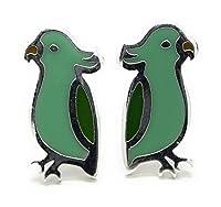 オウム イヤリング (Parrot Earrings)