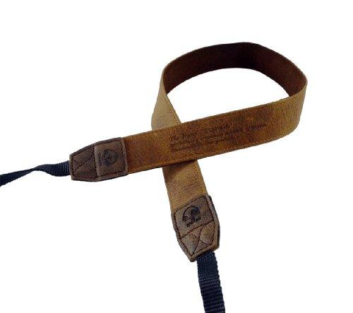 EtsHaim ネックストラップ Vintage-30 ミラーレス/一眼レフ用 タン 本革 M-7540