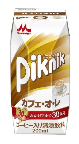 ピクニック カフェ・オ・レ 200ml×24本